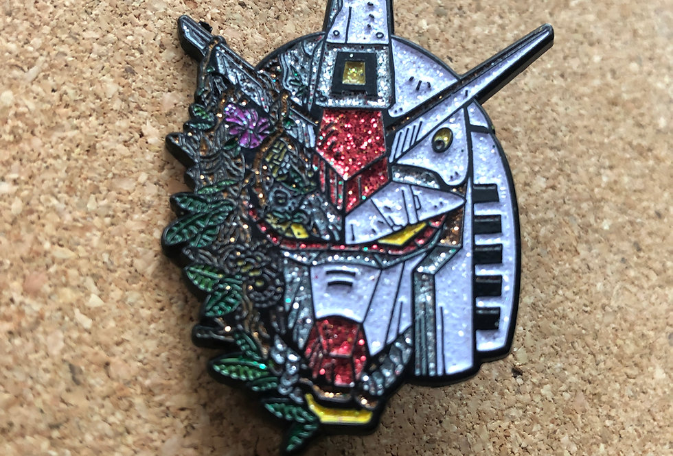 Forest Gundam Enamel Pin