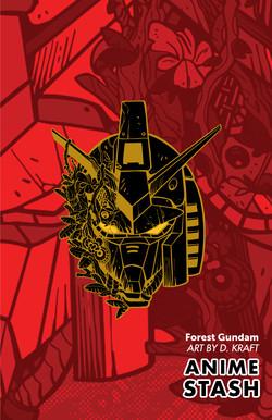 Forest-Gundam-Pantone-Gold