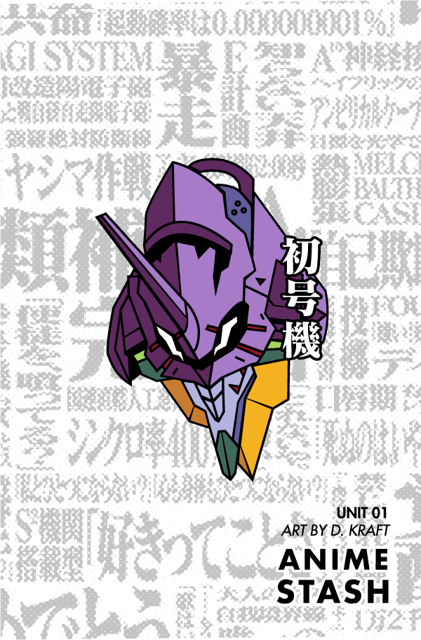 Evangelion Pin Design