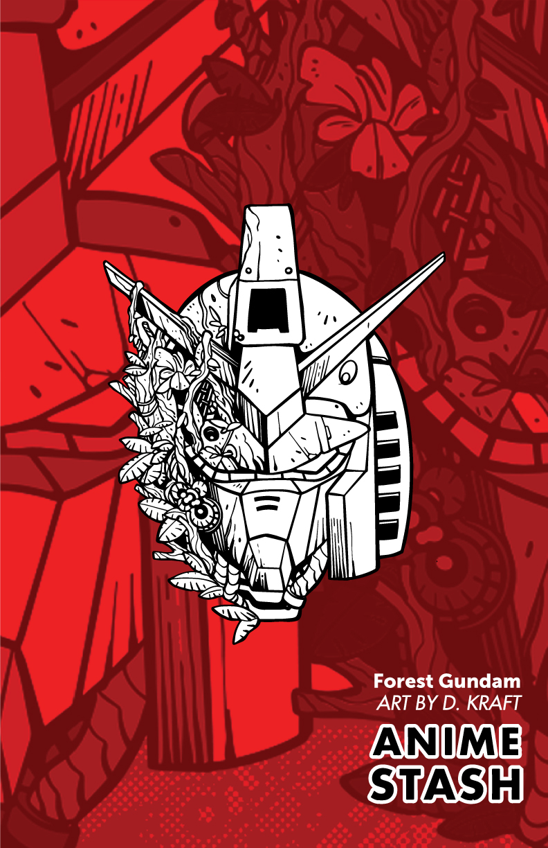 Forest-Gundam-Ink