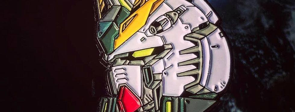 Nu Gundam Enamel Pin