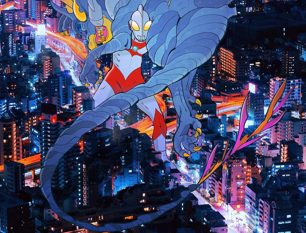 Ultraman Print