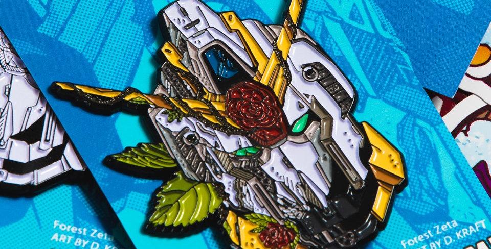 Forest Zeta Gundam Enamel Pin