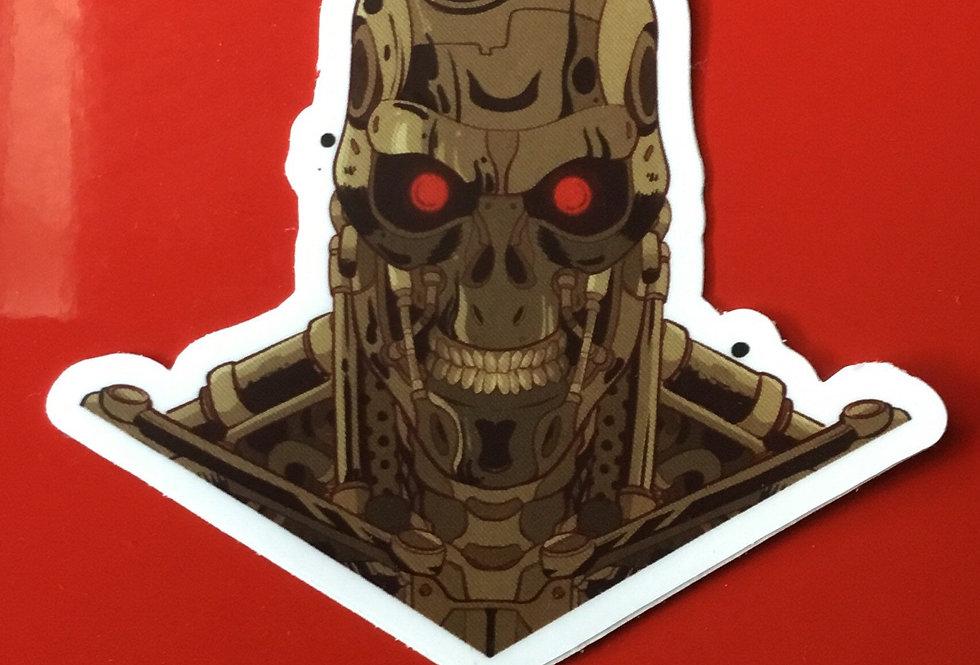 """Terminator 3""""x3"""" Vinyl Sticker"""