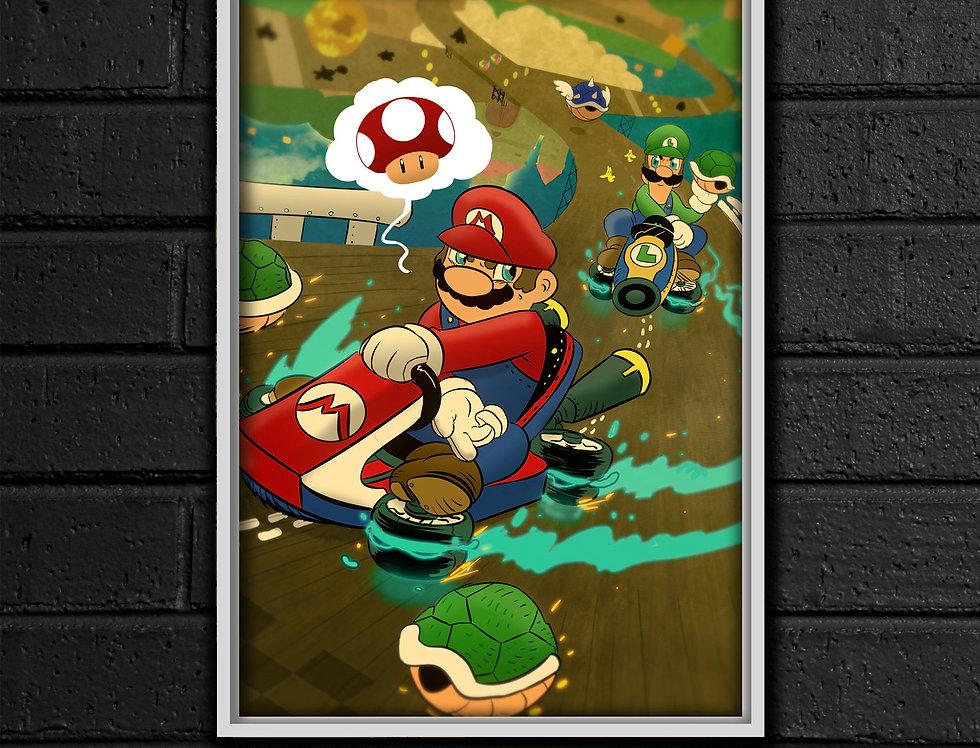 Mario Kart 8 Print