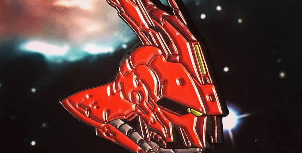 Sazabi Gundam Enamel Pin