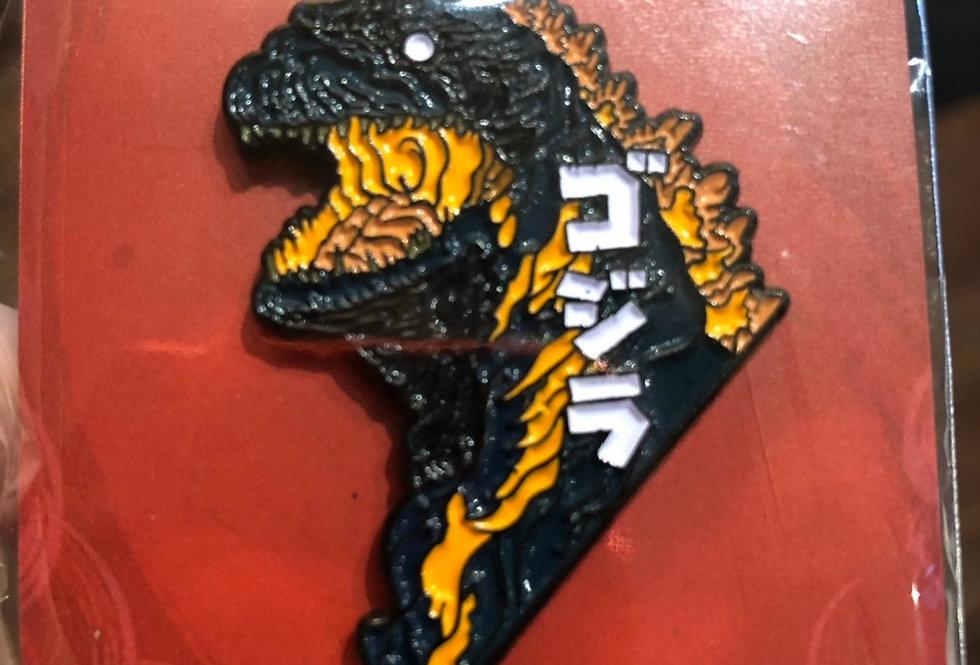 Godzilla Enamel Pin