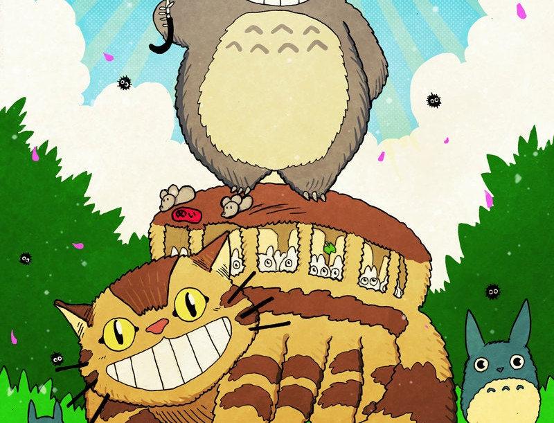 My Neighbor Totoro Print