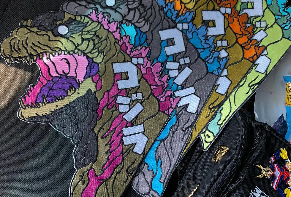 """Godzilla 12"""" Patch"""