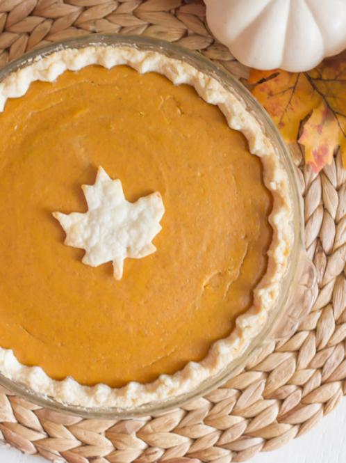 Organic Pumpkin Pie