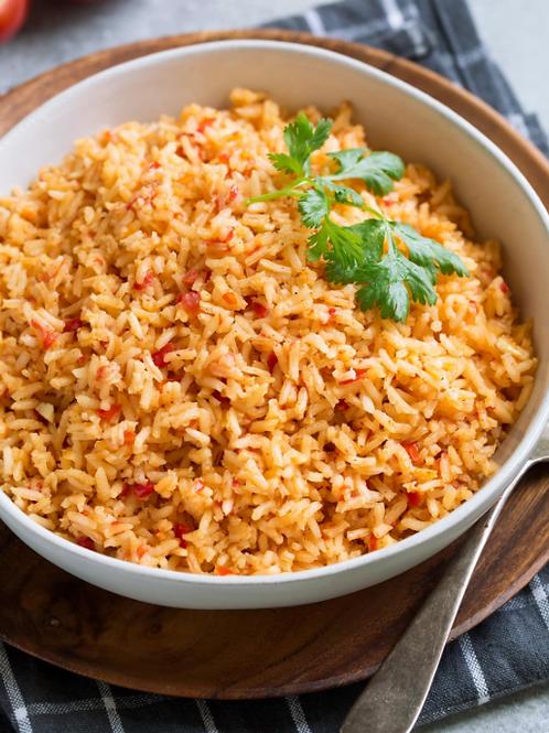 Chicken Enchiladas & Mexican Rice