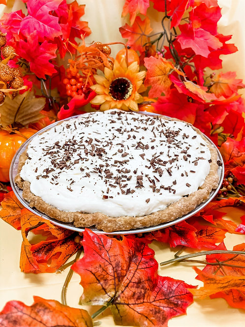 Organic Chocolate Cream Pie (Thanksgiving)
