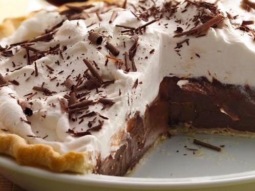 Organic Chocolate Cream Pie