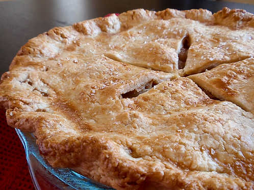 Organic Double Crusted Apple Pie