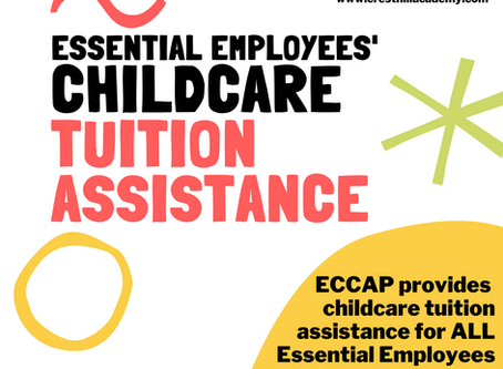 Childcare Tuition Assistance for Essential Employees