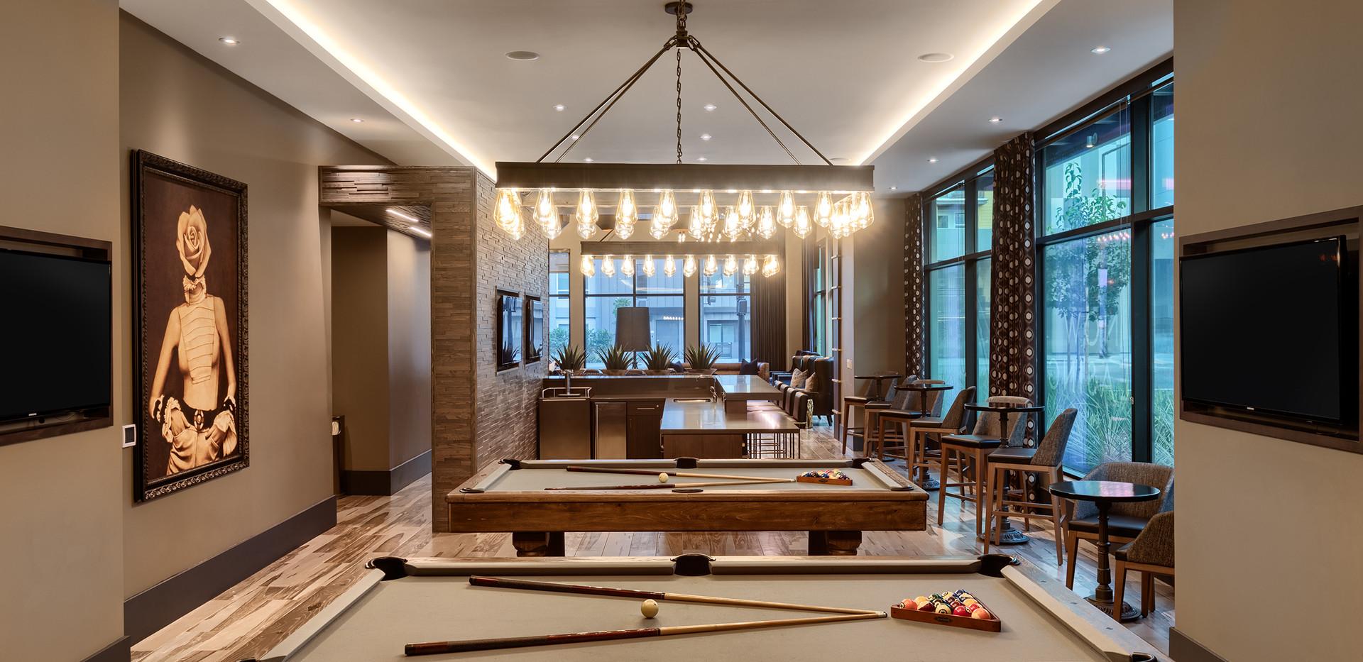 Bar + Pool Hall