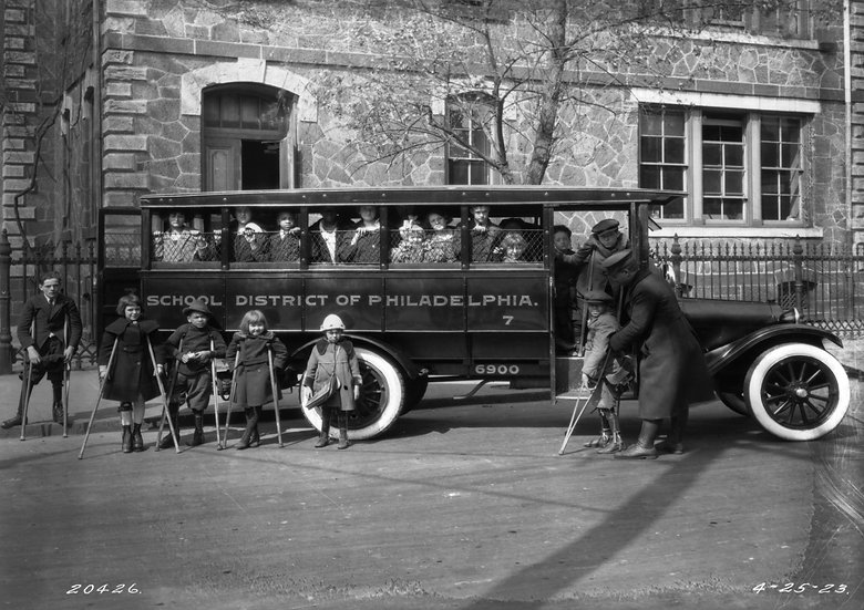 THE MEADE SCHOOL 28TH AND OXFORD AVE. APRIL 25, 1923