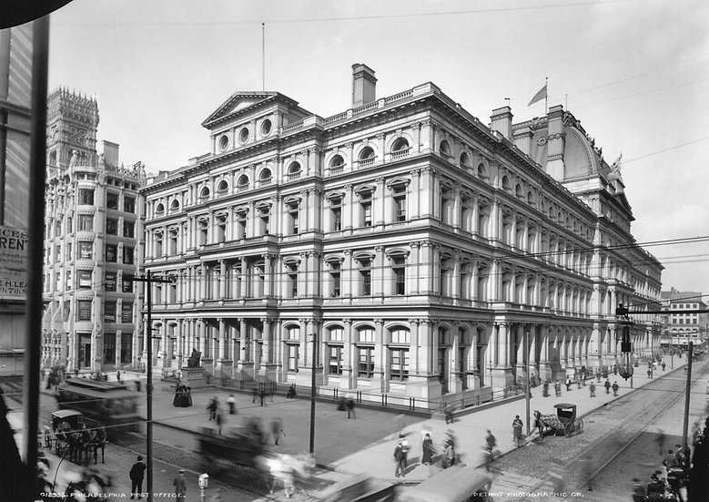 PHILADELPHIA PA POST OFFICE 1900 img#199824
