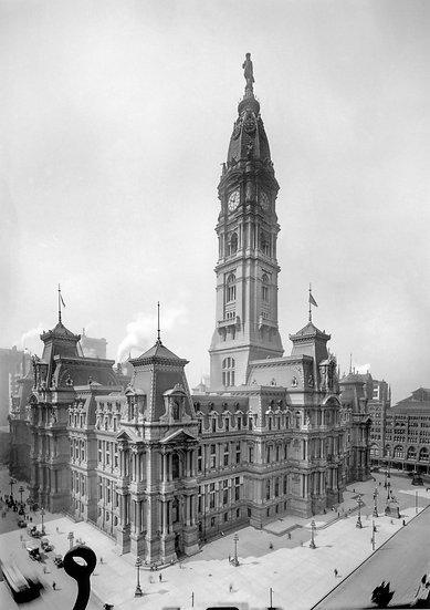 PHILADELPHIA CITY HALL 1910 img#100820