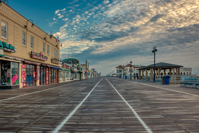 A Cold Fall Morning in Ocean City, NJ