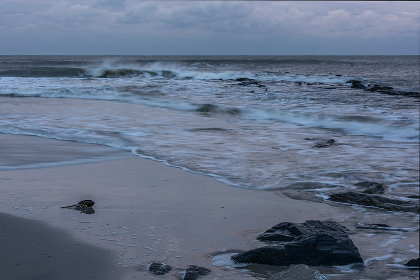 An Autumn Dawn at the Jersey Shore