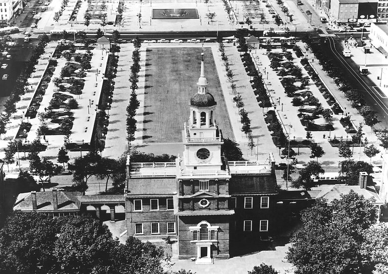INDEPENDENCE MALL PHILADELPHIA PA CIRCA 1955 img#100812