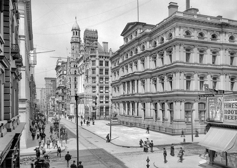 CHESTNUT STREET POST OFFICE PHILA., PA 1904 img#100819