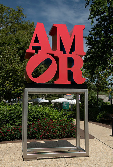 THE AMOR SCULPTURE AT 18TH AND THE PARKWAY PHILA., PA. img.#100928