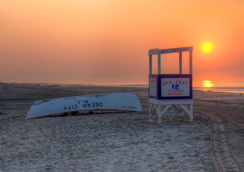 Sunrise On 12th Street Beach, Ocean City, NJ