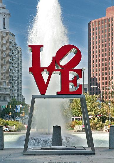 LOVE STATUE PHILA., PA img#100549