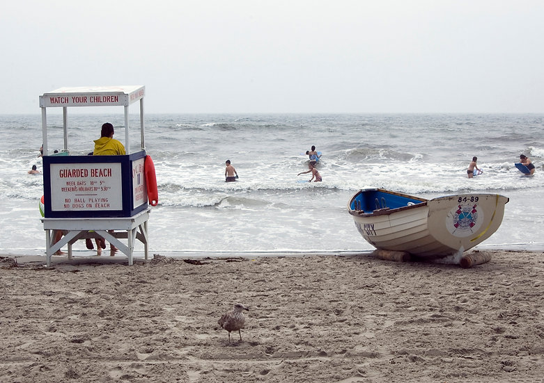 Lifeguard Stand and Boat, Ocean City, NJ