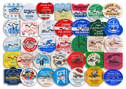 Collection of Beach Tags