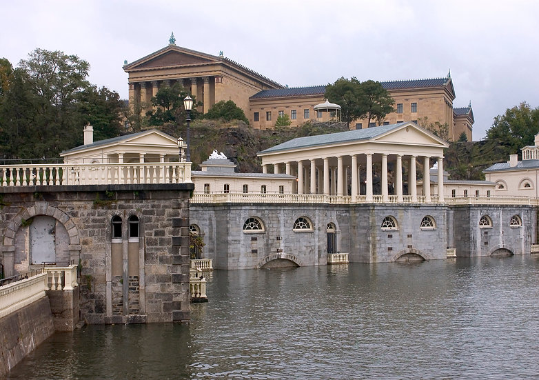 PHILADELPHIA WATERWORKS & ART MUSEUM #3