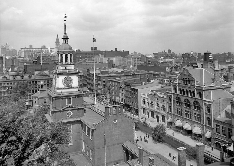INDEPENDENCE HALL PHILADELPHIA PA CIRCA 1910 img#100822