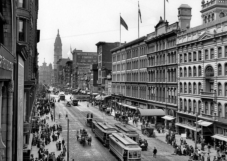 8TH AND MARKET STREETS PHILADELPHIA 1904 img#100749