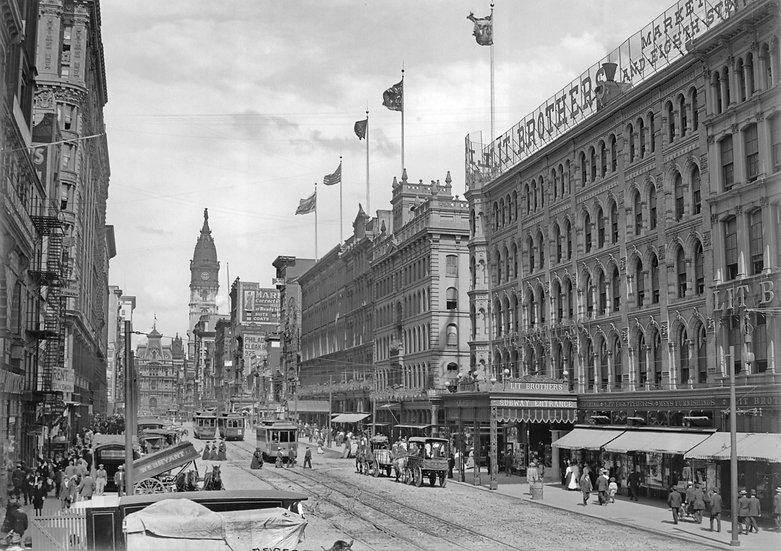 MARKET STREET PHILADELPHIA PA 1905 img#100821