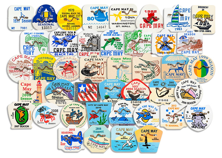 Beach Tags of Cape May, NJ. img#100904