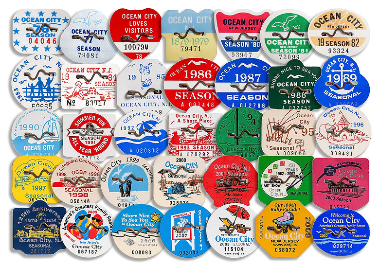 THE FIRST 35 YEARS OF OC BEACH TAGS img#100636