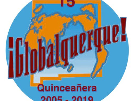 Get your dancing shoes ready! We are coming back to New Mexico for Globalquerque.