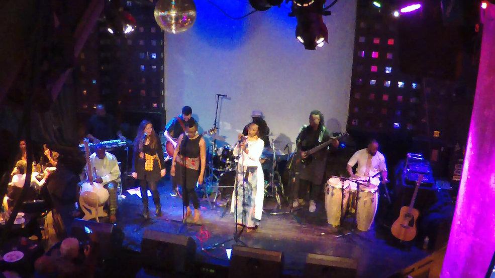 Natu live at SOB's