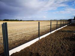 clôtures rigide