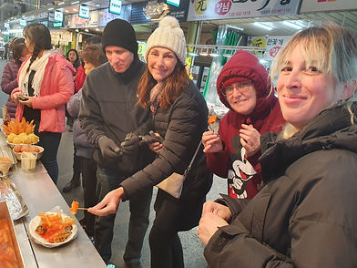 mangwon market tour korean cooking class in seoul