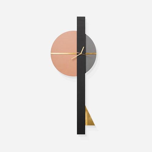 שעון חץ ורוד/פליז
