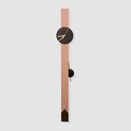 שעון מטוטלת ורוד עתיק