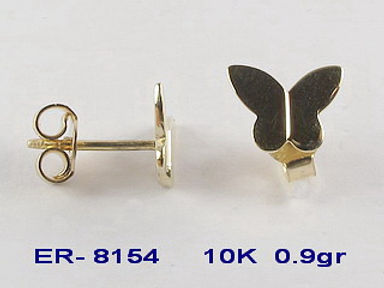10K Children's Stud Earrings