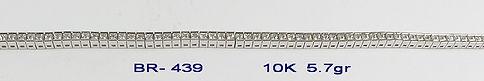 10K Cubic Bracelets