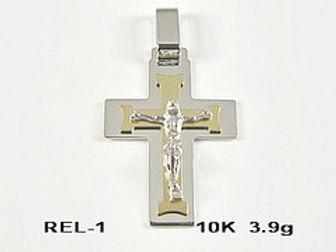 10K Crucifix Pendants