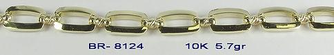 10K Yellow Bracelets