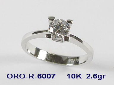 10K Cubic Engagemsent Rings