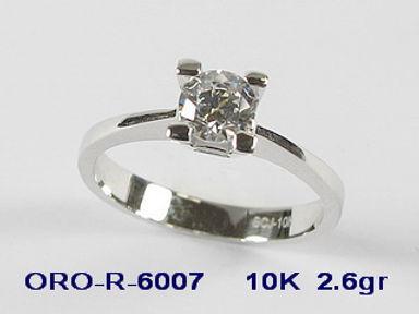 10K Cubic Engagemsent Rings